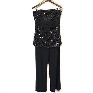 White House Black Market Sequin Jumpsuit